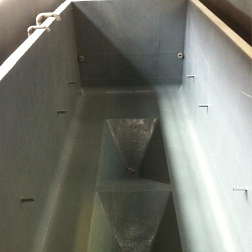 磷化槽完工